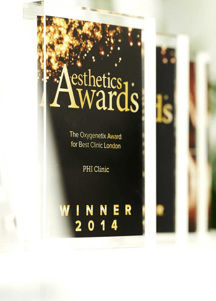 Latest Clinical Methods - Multi award winning clinic aesthetics awards london